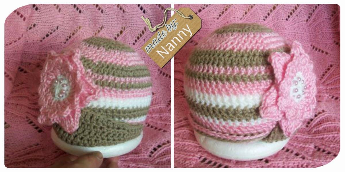 a crochet hat for Savannah I designed