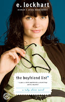 The Boyfriend List E Lockhart book cover