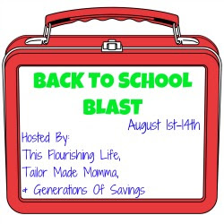 back to school blast