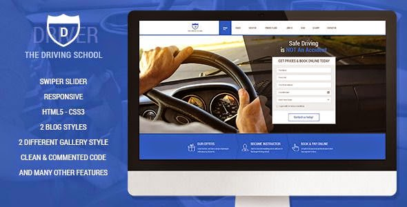 Best Premium Driving School template