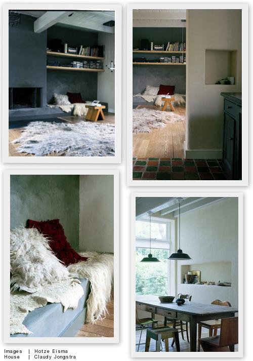 Een grijze muur saai nee hoor villa d 39 esta interieur en wonen - Leisteen muur ...