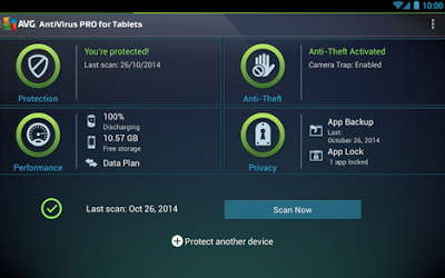 AVG Antivirus Pro Android Protection
