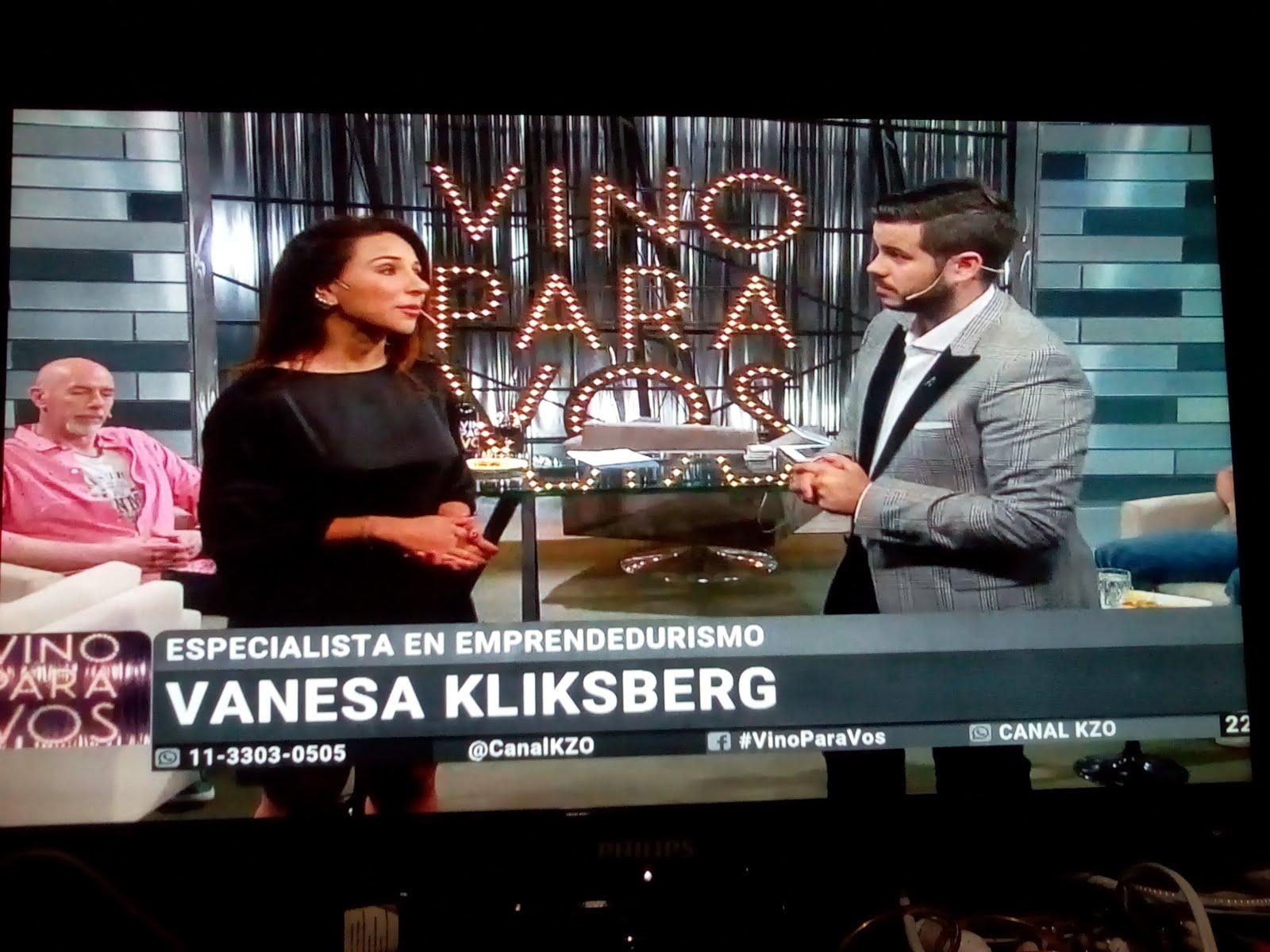 REPORTAJE A VANESA EN TV