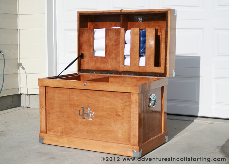 Wood Tack Trunk Plans