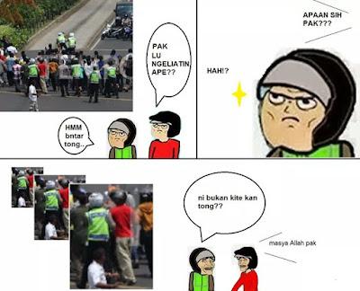 14 Meme Lucu #KamiTidakTakut Teror Sarinah Menggema di Jagad Maya