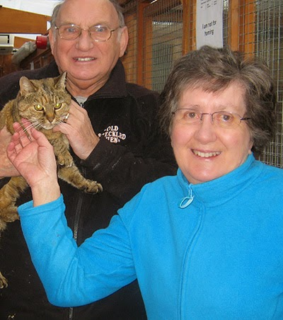 Cats Protection volunteer George Russell