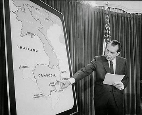 President Nixon on TV