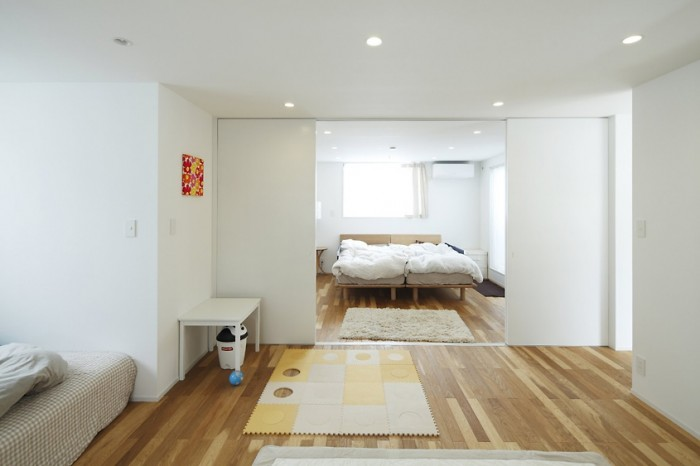Japanese minimalist interior design bedroom