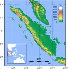 Gambar Peta Indonesia - Sumatera