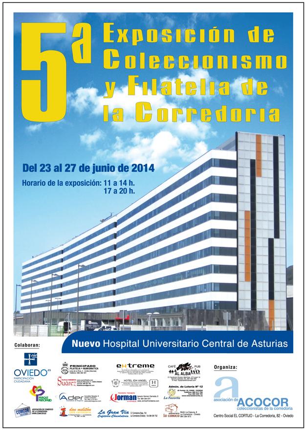 Cartel 5º Exposición de Coleccionismo ACOCOR