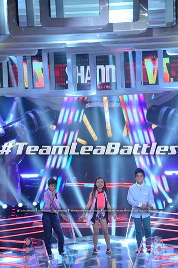 Kobe vs Lorenzo vs Shanne Team Lea Battles on 'The Voice Kids' Philippines