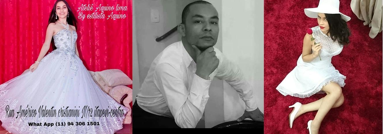 Aquino Lima, estilista renomado por já ter vestido pessoas influentes em seus 31 anos de carreira f