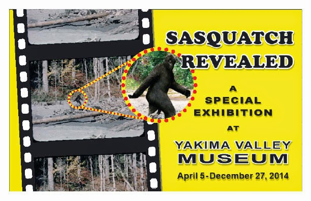 Sasquatch Revealed Exibition Yakima Valley Museum