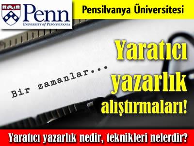 Pensilvanya Üniversitesi yaratıcı yazarlık alıştırmaları