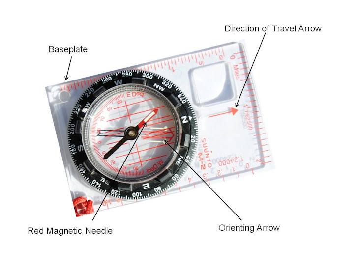 Compass Navigation – Plotting Your Position – 6/4/12