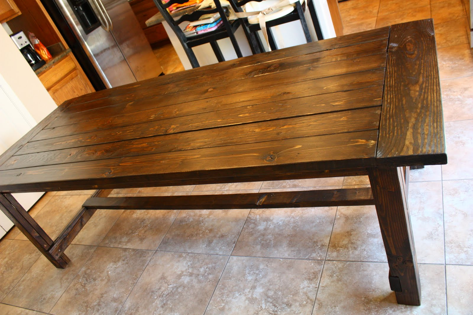 Craptastic five feature friday 8 for Farmhouse dining table