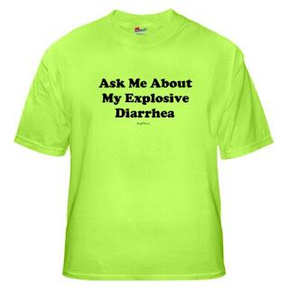 Green T-Shirt Diarrhea