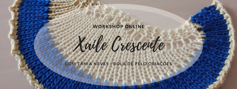 Workshop Online Xaile Crescente em Tricot