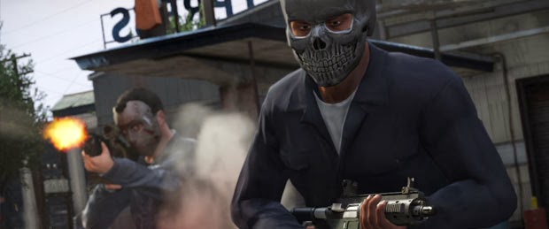GTA 5 Shop Robberies