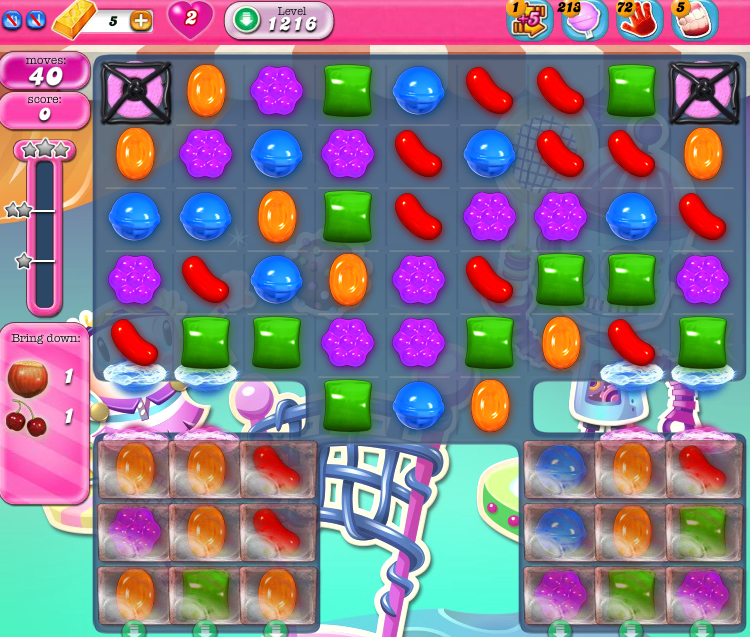 Candy Crush Saga 1216