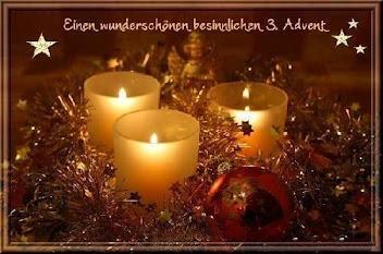 Einen besinnlichen 3. Advent