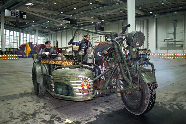 The Biggest Motor cycle in the world