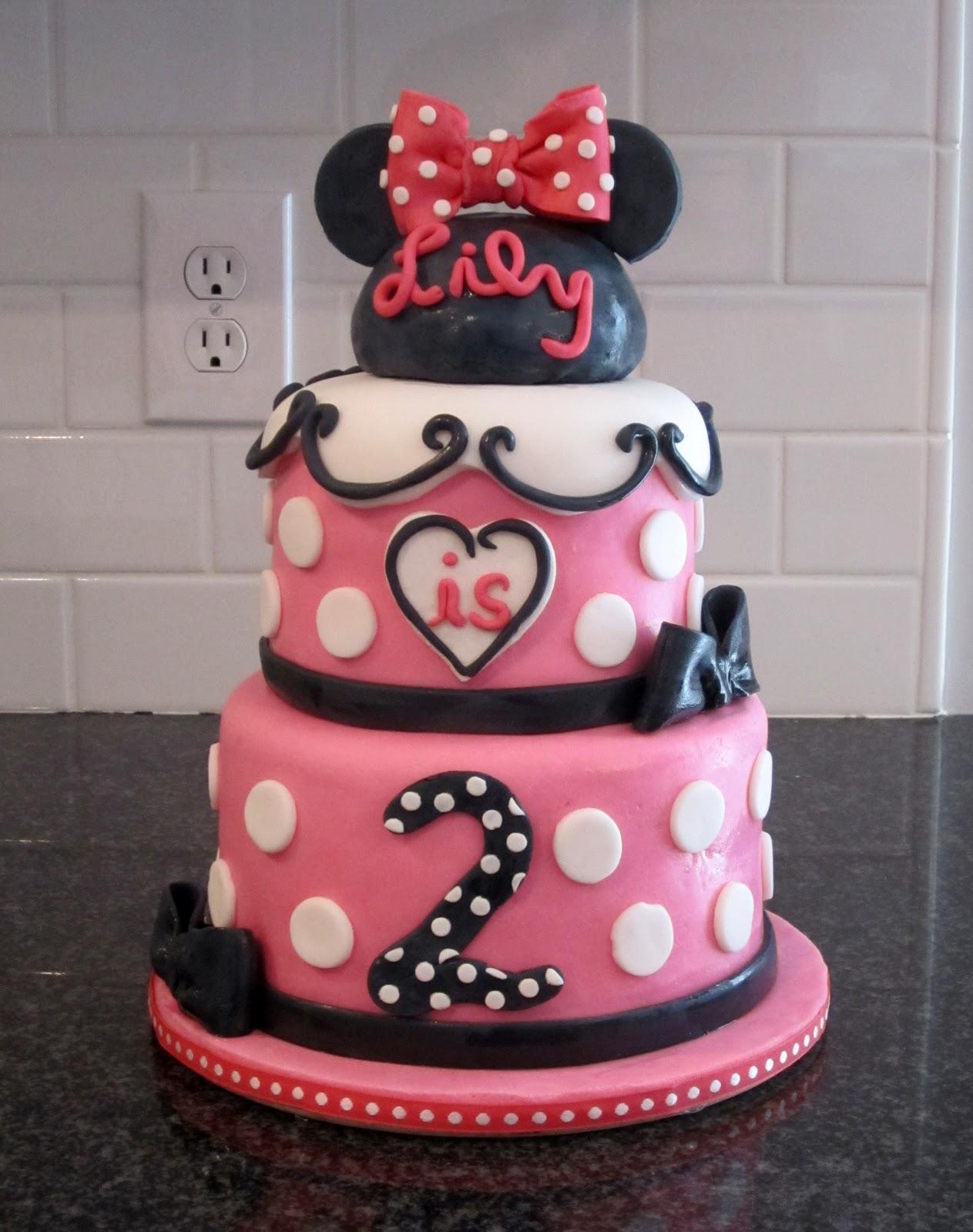 Kellis Kakez: Minnie Mouse Birthday