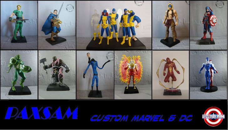 Paxsam Custom Marvel