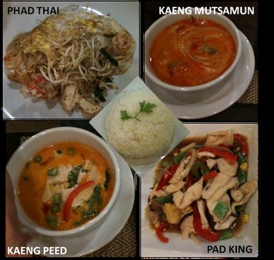 image plats Restaurant Thailandais Narai Thai à Toulouse