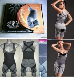 Review Manfaat Natural Bamboo Slimming Suit Asli Original Harga Termurah