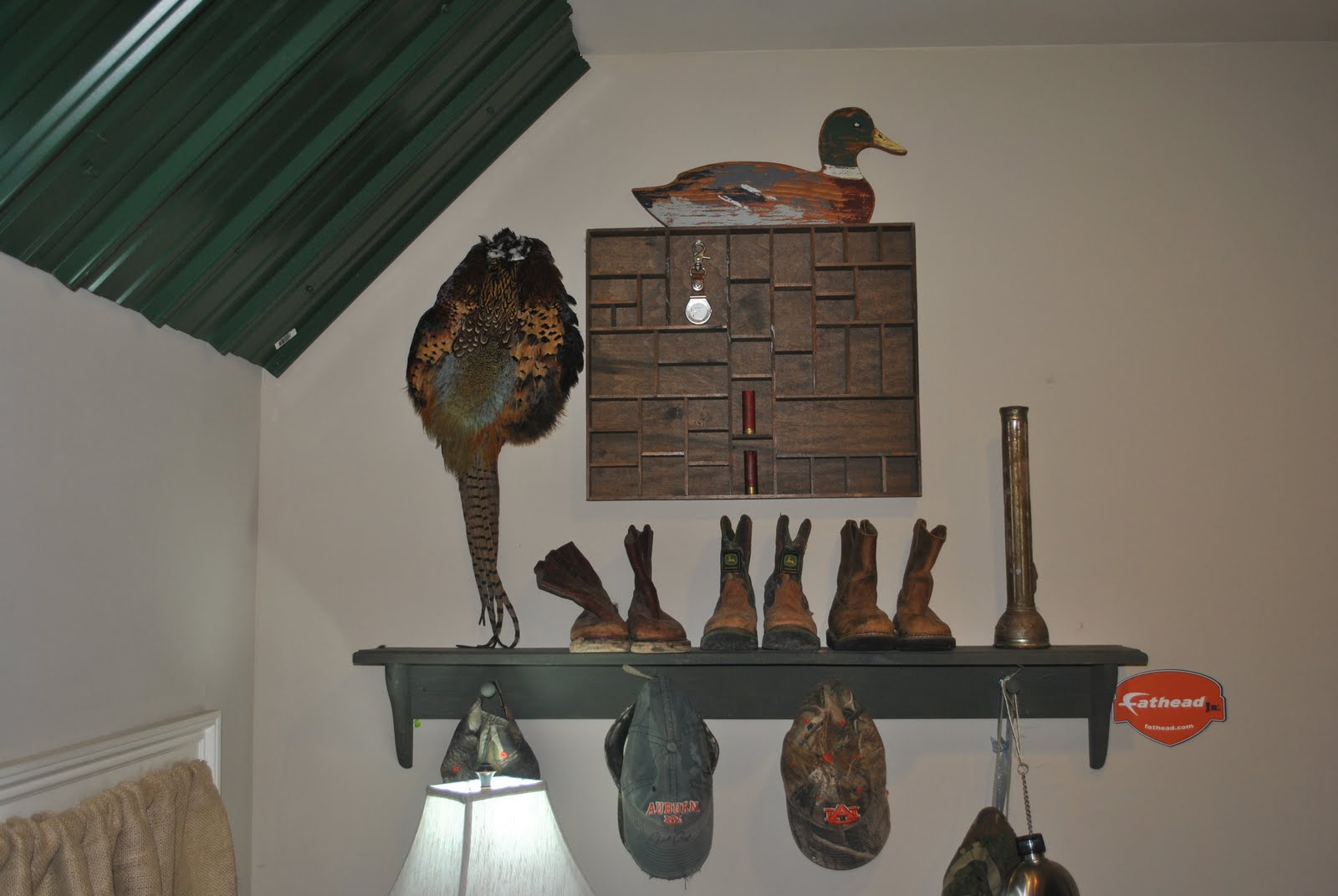 da 0 days of before and afters day 2 hunting camo themed room