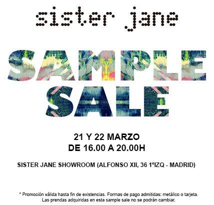 Venta Especial de Sister Jane en Madrid