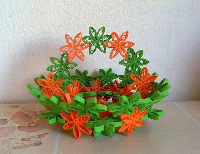 Quilling art home decor quilling for Quilling home decor