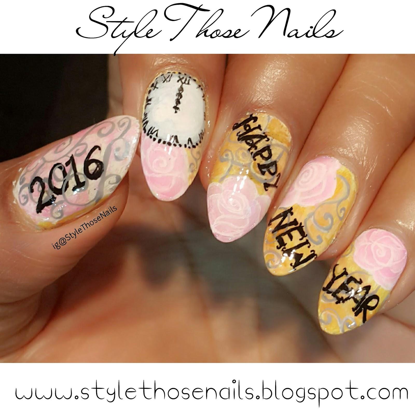 Style Those Nails: 40 Great Nailart Ideas- New Year Nails 2016