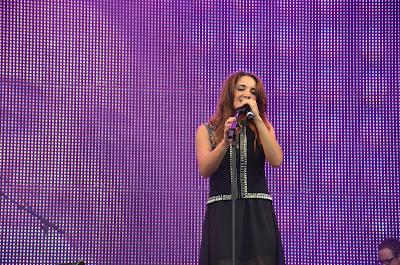 Natalia Kelly am Linzer Krone Fest 2013. Foto: Florian Glechner.