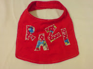 Baby bib with your lil's name