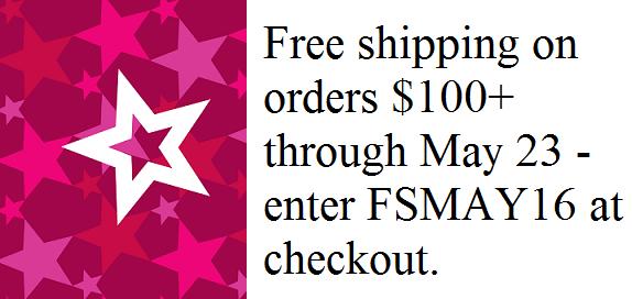 FREE Shipping - FSMAY16