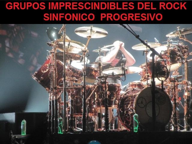 Grupos Imprescindibles Del Rock Sinfónico/Progresivo