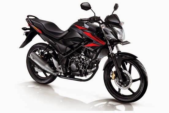 Foto Honda CB150R Streetfire 2014 Astro Black Sebelum Modifikasi
