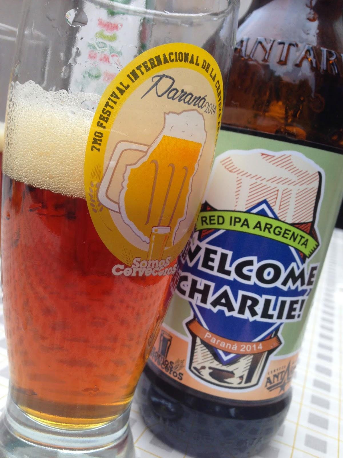 Cervezas del Mundo: Red IPA Paraná 2014