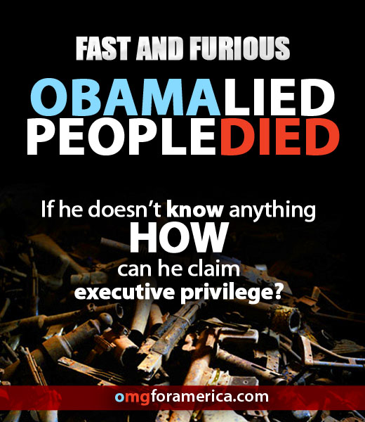 "Obama Claims To Know Nothing About ""Fast And Furious"" And"