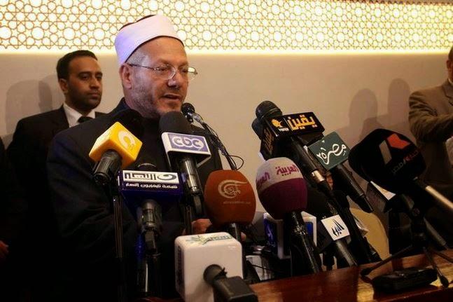 المفتي: «تنصيب السيسى» رئيسا تتويج لإرادة المصريين