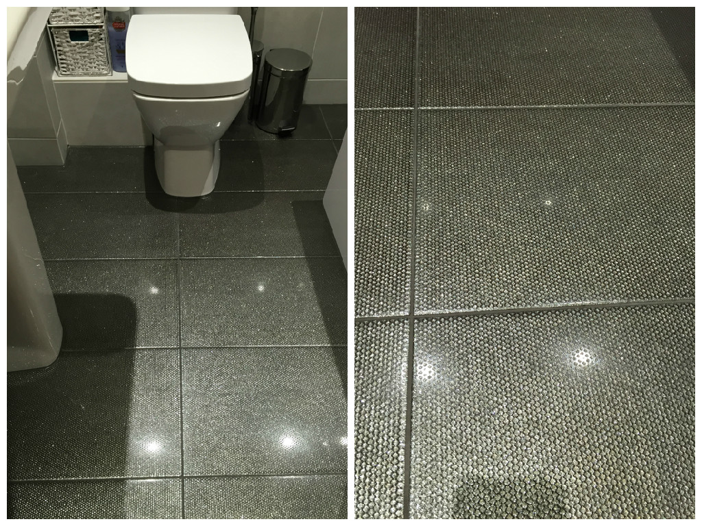 Trying2bbeautiful my new grey bathroom jewel diamond floor tiles dailygadgetfo Gallery