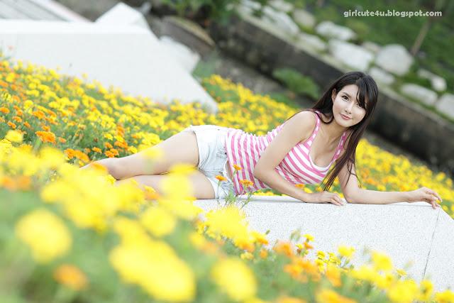1 Cha Sun Hwa-White and Pink-very cute asian girl-girlcute4u.blogspot.com