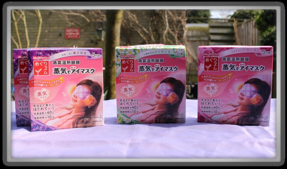 YesStyle Order #2 Skincare Fashion Haul korean chinese japanese kao Steam Eye Mask Chamomile fresh rose lavender