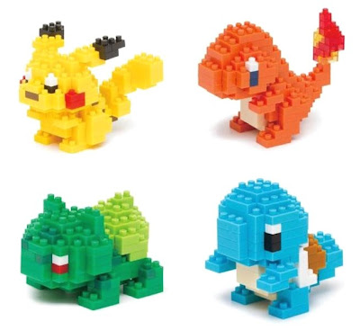 Nanoblock x Pokemon Kawada