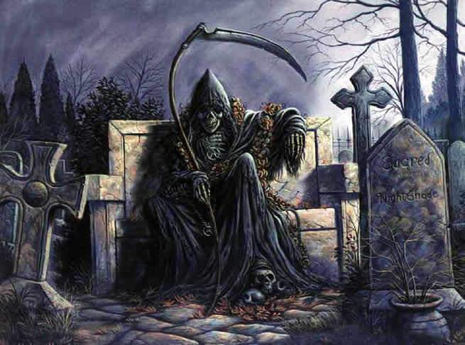 imagenes de san la muerte: