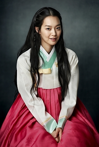 Shin Min Ah as Arang in Arang and the Magistrate via heyladyspring.com