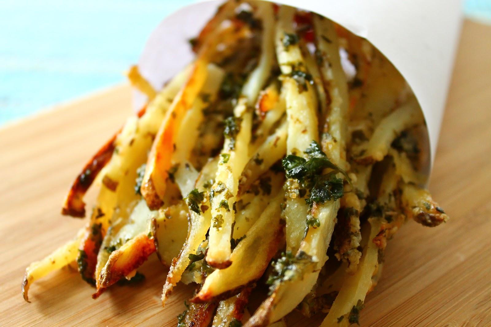 Italian Fries {oven baked}