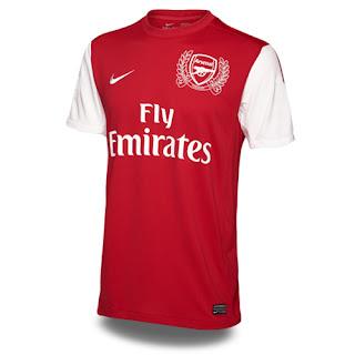 Arsenal New Jersey 2012